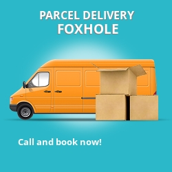 PL26 cheap parcel delivery services in Foxhole