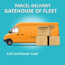 DG7 cheap parcel delivery services in Gatehouse of Fleet