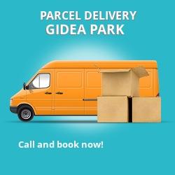RM2 cheap parcel delivery services in Gidea Park