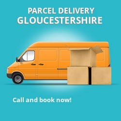 GL54 cheap parcel delivery services in Gloucestershire