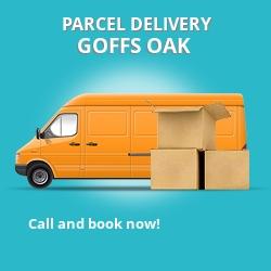 EN7 cheap parcel delivery services in Goff's Oak