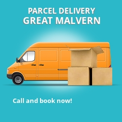 WR14 cheap parcel delivery services in Great Malvern