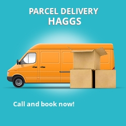 FK4 cheap parcel delivery services in Haggs