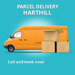 ML7 cheap parcel delivery services in Harthill