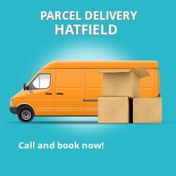 EN11 cheap parcel delivery services in Hatfield