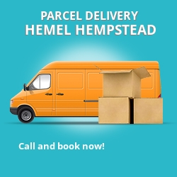 HP3 cheap parcel delivery services in Hemel Hempstead