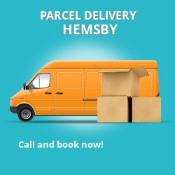 NR29 cheap parcel delivery services in Hemsby