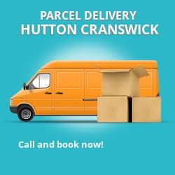 YO25 cheap parcel delivery services in Hutton Cranswick