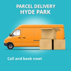 W2 cheap parcel delivery services in Hyde Park