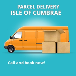 KA28 cheap parcel delivery services in Isle Of Cumbrae