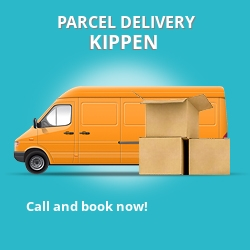 FK8 cheap parcel delivery services in Kippen