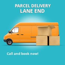 DE55 cheap parcel delivery services in Lane End