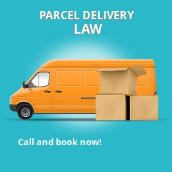 ML8 cheap parcel delivery services in Law