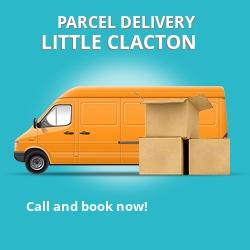 CO16 cheap parcel delivery services in Little Clacton