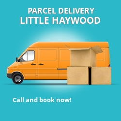 ST18 cheap parcel delivery services in Little Haywood