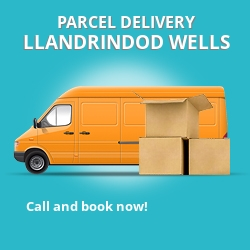 LD1 cheap parcel delivery services in Llandrindod Wells