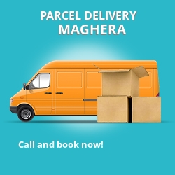 BT48 cheap parcel delivery services in Maghera
