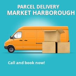 LE16 cheap parcel delivery services in Market Harborough
