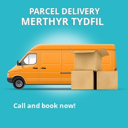 CF48 cheap parcel delivery services in Merthyr Tydfil