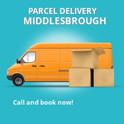 TS9 cheap parcel delivery services in Middlesbrough