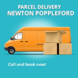 EX10 cheap parcel delivery services in Newton Poppleford
