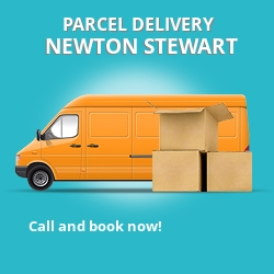 DG8 cheap parcel delivery services in Newton Stewart