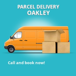 RG23 cheap parcel delivery services in Oakley