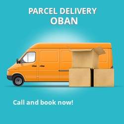 PA34 cheap parcel delivery services in Oban