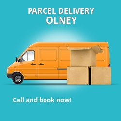 MK17 cheap parcel delivery services in Olney