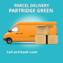 RH13 cheap parcel delivery services in Partridge Green