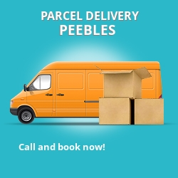 EH45 cheap parcel delivery services in Peebles