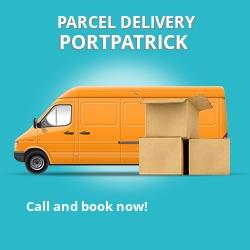 DG9 cheap parcel delivery services in Portpatrick