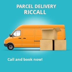 YO19 cheap parcel delivery services in Riccall