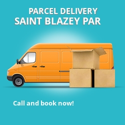 PL24 cheap parcel delivery services in Saint Blazey Par