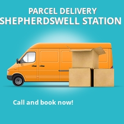 CT15 cheap parcel delivery services in Shepherdswell Station