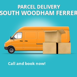 CM3 cheap parcel delivery services in South Woodham Ferrers