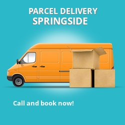 KA11 cheap parcel delivery services in Springside
