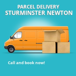 DT10 cheap parcel delivery services in Sturminster Newton