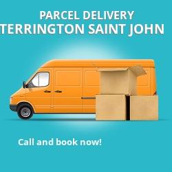 PE34 cheap parcel delivery services in Terrington Saint John