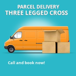 BH21 cheap parcel delivery services in Three Legged Cross