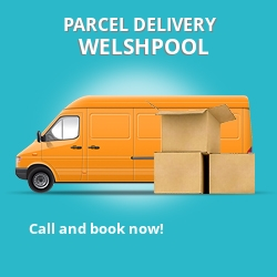 SY21 cheap parcel delivery services in Welshpool