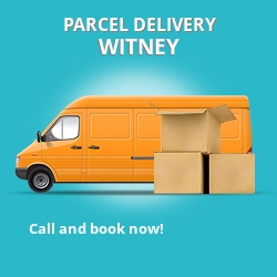 OX28 cheap parcel delivery services in Witney