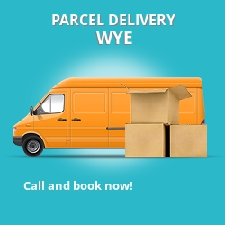 TN25 cheap parcel delivery services in Wye