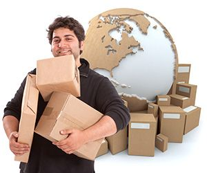 Findon package delivery companies AB12 dhl