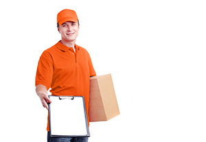 Somerset package delivery companies BA6 dhl