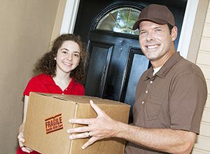CM23 parcel collection service in Hertford