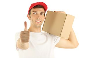 Madeley package delivery companies CW3 dhl