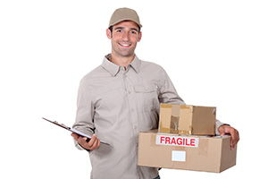 Northwich package delivery companies CW6 dhl