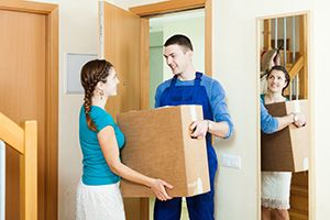 Crich package delivery companies DE4 dhl