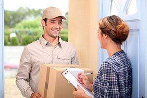 Lane End parcel deliveries DE55